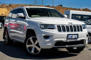2014 Jeep Grand Cherokee WK MY2014 Overland White 8 Speed Sports Automatic Wagon Osborne Park Stirling Area Preview