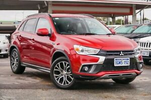 2018 Mitsubishi ASX XC MY18 LS ADAS (2WD) Red Continuous Variable Wagon Osborne Park Stirling Area Preview