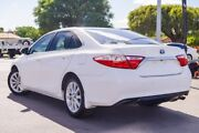 2015 Toyota Camry AVV50R Atara S Diamond White 1 Speed Constant Variable Sedan Hybrid Osborne Park Stirling Area Preview