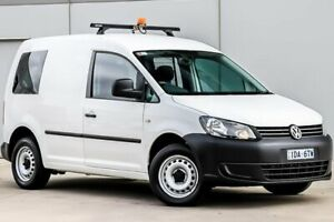 2014 Volkswagen Caddy 2KN TDI250 White Sports Automatic Dual Clutch Pakenham Cardinia Area Preview