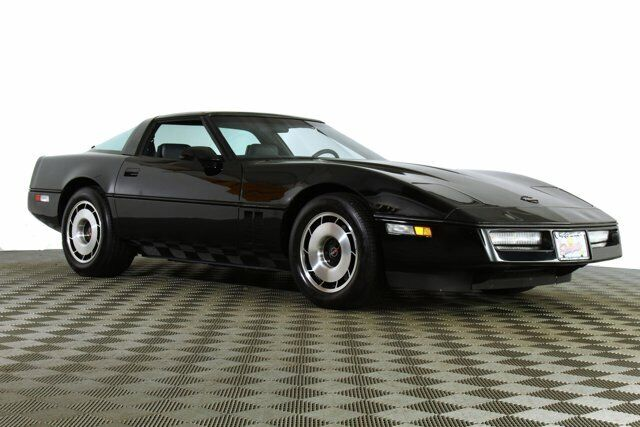 1984 Black Chevrolet Corvette   | C4 Corvette Photo 6