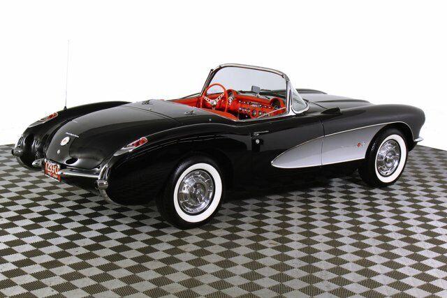 1957 Black Chevrolet Corvette     C1 Corvette Photo 9