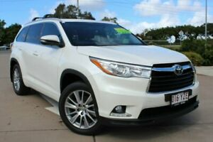 2015 Toyota Kluger GSU55R Grande AWD White 6 Speed Sports Automatic Wagon Noosaville Noosa Area Preview