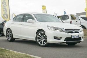 2013 Honda Accord 8th Gen MY12 V6 Luxury White Orchid 5 Speed Sports Automatic Sedan