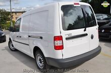 2010 Volkswagen Caddy 2KN Green 6 Speed Sports Automatic Dual Clutch Van Cannington Canning Area Preview