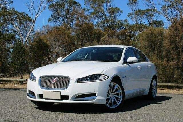 2014 Jaguar XF X250 MY14 Premium Luxury White 8 Speed ...