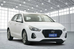 2019 Hyundai i30 PD2 MY19 Active White 6 Speed Sports Automatic Hatchback Victoria Park Victoria Park Area Preview