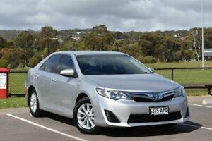 2012 Toyota Camry AVV50R Hybrid H Silver 1 Speed Constant Variable Sedan Hybrid St Marys Mitcham Area Preview