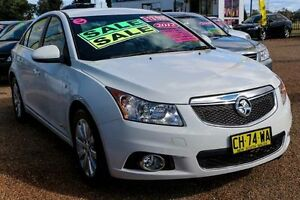 2012 Holden Cruze JH Series II MY13 CDX White 6 Speed Sports Automatic Sedan Minchinbury Blacktown Area Preview