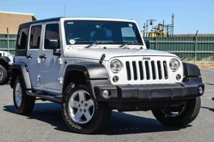 2015 Jeep Wrangler JK MY2016 Unlimited Sport White 5 Speed Automatic Softtop Osborne Park Stirling Area Preview