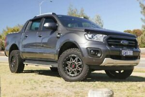 2018 Ford Ranger PX MkIII 2019.00MY Wildtrak Pick-up Double Cab Grey 6 Speed Sports Automatic
