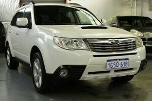 2009 Subaru Forester S3 MY09 XT AWD Pearl White 4 Speed Sports Automatic Wagon Myaree Melville Area Preview