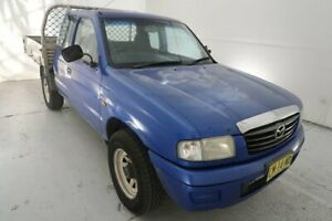 2002 Mazda Bravo B2500 DX Freestyle Blue 5 Speed Manual Cab Chassis Hamilton North Newcastle Area Preview