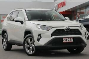 2019 Toyota RAV4 Mxaa52R GXL 2WD Crystal Pearl 10 Speed Constant Variable Wagon Woolloongabba Brisbane South West Preview