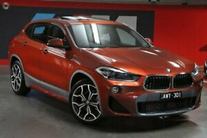 2018 BMW X2 F39 sDrive18i Coupe DCT M Sport X Orange 7 Speed Sports Automatic Dual Clutch Wagon South Melbourne Port Phillip Preview