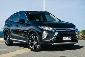 2017 Mitsubishi Eclipse Cross YA MY18 Exceed AWD Black 8 Speed Constant Variable Wagon