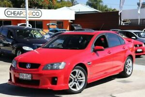 2010 Holden Commodore VE MY10 SV6 Red 6 Speed Sports Automatic Sedan Greenslopes Brisbane South West Preview
