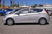 2017 Hyundai Accent RB4 MY17 Active Silver 6 Speed Constant Variable Hatchback Myaree Melville Area Preview