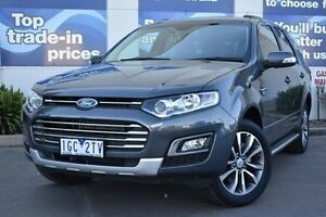 2016 Ford Territory SZ MkII Titanium Seq Sport Shift Grey 6 Speed Sports Automatic Wagon Epping Whittlesea Area Preview