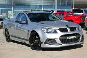 2016 Holden Special Vehicles Maloo Gen-F2 MY16 R8 SV Black Silver 6 Speed Manual Utility Castle Hill The Hills District Preview