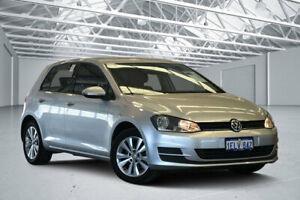 2013 Volkswagen Golf AU 90 TSI Comfortline Reflex Silver 7 Speed Auto Direct Shift Hatchback