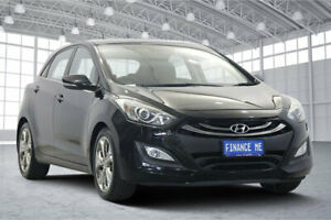 2012 Hyundai i30 GD Premium Phantom Black 6 Speed Sports Automatic Hatchback Victoria Park Victoria Park Area Preview