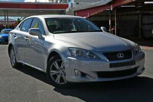 2008 Lexus IS GSE20R MY09 IS250 Prestige Silver 6 Speed Sports Automatic Sedan Nundah Brisbane North East Preview