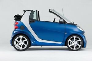 2008 Smart Fortwo Convertible Blue/Silver Excellent Condition!