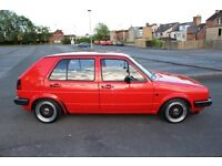 Volkswagen Mk2 Golf C Type 19 1.9TDI conversion, full restoration