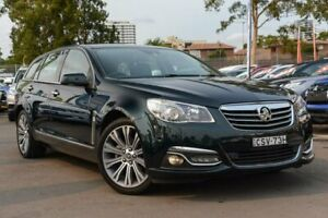 2014 Holden Calais VF MY14 V Sportwagon Green 6 Speed Sports Automatic Wagon