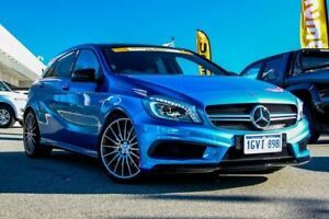 2014 Mercedes-Benz A-Class W176 Blue 7 Speed Sports Automatic Dual Clutch Hatchback Cannington Canning Area Preview
