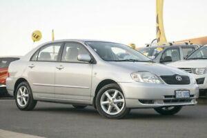 2003 Toyota Corolla ZZE122R Conquest Silver 4 Speed Automatic Sedan