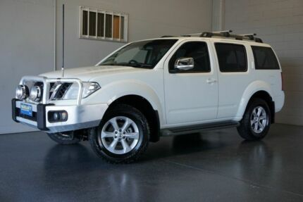 2012 Nissan Pathfinder R51 Series 4 ST-L (4x4) White 6 Speed Manual Wagon