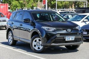 2017 Toyota RAV4 ZSA42R GX 2WD Black 7 Speed Constant Variable Wagon