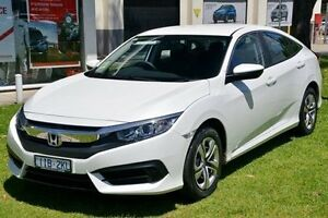 2016 Honda Civic 10th Gen MY16 VTi White 1 Speed Constant Variable Sedan Ferntree Gully Knox Area Preview