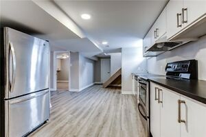 Very bright, newly renovated, private laundry. Must see