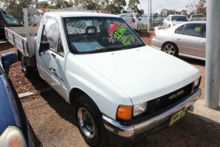 1989 Holden Rodeo TF DLX White 4 Speed Automatic Cab Chassis Minchinbury Blacktown Area Preview