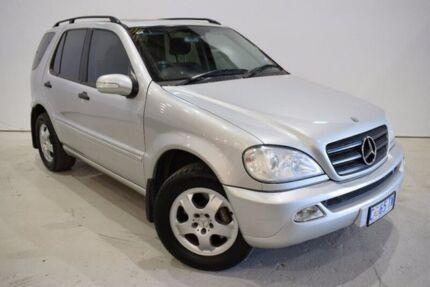 2002 Mercedes-Benz ML320 W163 MY2002 Luxury Silver 5 Speed Sports Automatic Wagon