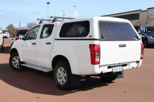 2013 Isuzu D-MAX MY14 LS-M Crew Cab White 5 Speed Sports Automatic Utility Clarkson Wanneroo Area Preview