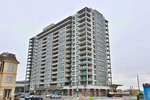 1 bdrm + den Unobstructed, Magnificent View Of The Lake
