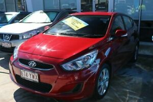 2018 Hyundai Accent RB6 MY18 Sport Pulse Red 6 Speed Sports Automatic Hatchback Mount Gravatt Brisbane South East Preview