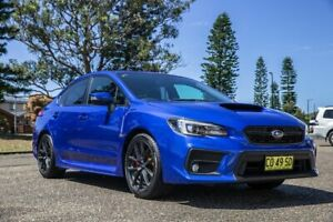2017 Subaru WRX V1 MY18 AWD Blue 6 Speed Manual Sedan Port Macquarie Port Macquarie City Preview
