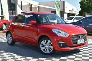 2017 Suzuki Swift AZ GL Navigator Red/Black 1 Speed Constant Variable Hatchback Attadale Melville Area Preview