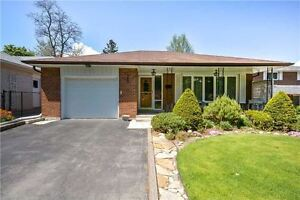 Main floor of Upgraded Etobicoke Home On A Court Backing On To A