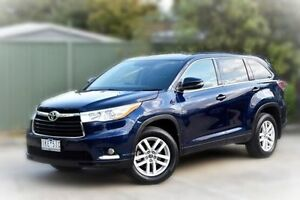 2016 Toyota Kluger GSU50R GX 2WD Blue 6 Speed Sports Automatic Wagon Berwick Casey Area Preview