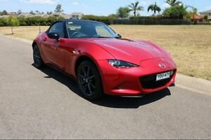 2015 Mazda MX-5 ND SKYACTIV-Drive Red 6 Speed Sports Automatic Roadster Haymarket Inner Sydney Preview