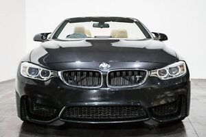 2015 BMW M4 F83 M-DCT Black 7 Speed Sports Automatic Dual Clutch Convertible