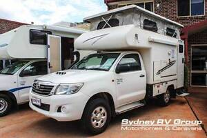U3426 Toyota Hilux Talvor Pop-Top 4X4 Camper Penrith Penrith Area Preview