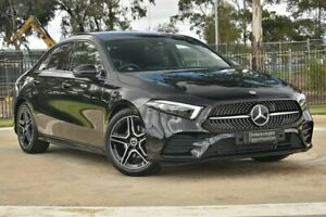 2020 Mercedes-Benz A-Class V177 800+050MY A180 DCT Black 7 Speed Sports Automatic Dual Clutch Sedan Melbourne Airport Hume Area Preview
