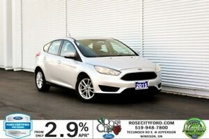 2015 Ford Focus SE / CERTIFIED / Accident Free / Heated Seats /